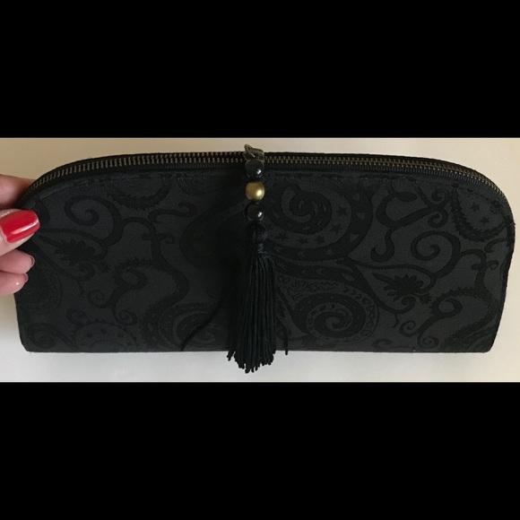 af583056ff Bags | Elegant Black Clutch Purse Evening Wear 10 Zip | Poshmark